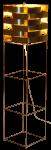 Sirius lampadaire or
