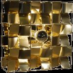 Applique Atlas dorée