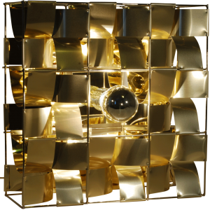 Atlas goldene Wandleuchte