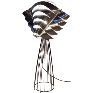 Auriga Silver Lamp