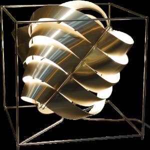 Auriga lampe cube bronze