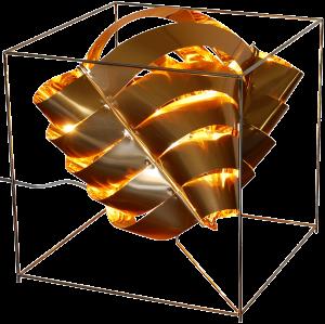 Auriga lampe cube cuivre