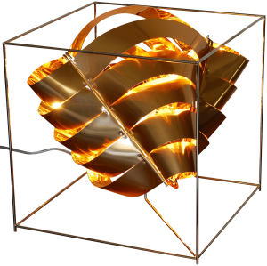 Auriga Kupferwürfellampe