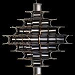 Cassiopée suspension canon de fusil