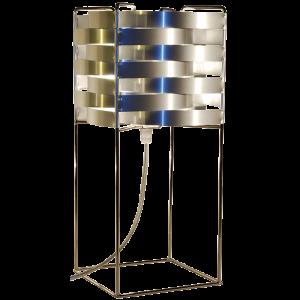 Lampe Ganymède argent