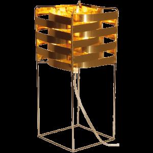 Lampe Ganymède cuivre