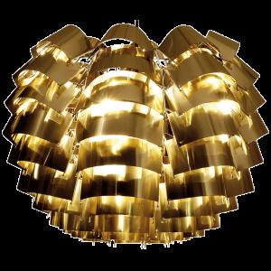 Orion goldene Pendelleuchte 50