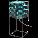 Lampe Ganymède turquoise