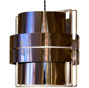 Altaïr gun metal suspension